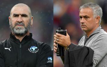 Eric Cantona not a fan of Jose Mourinho's Manchester United