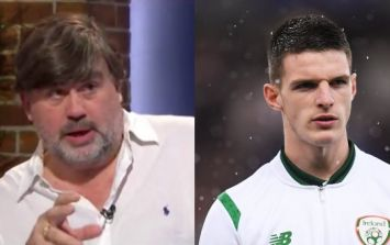 English journalist shares strong view on Declan Rice's international future