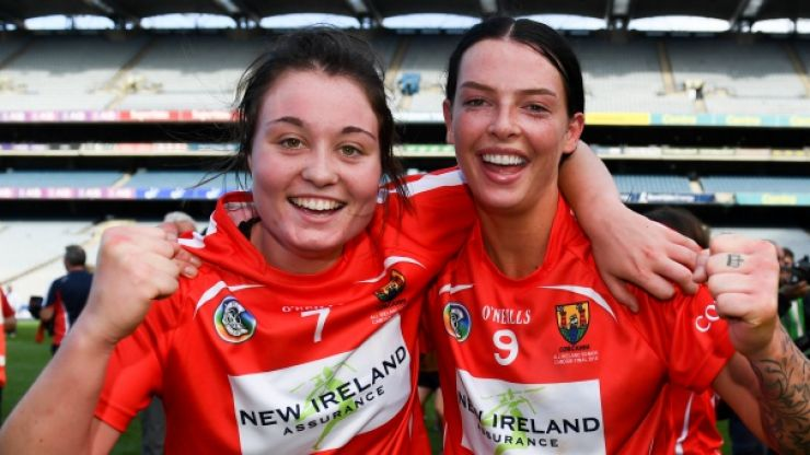 Inspirational double save proves vital as Cork claim second All-Ireland camogie title in succession