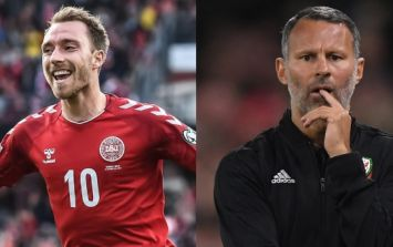 Ryan Giggs and Wales handed reality check by Christian Eriksen-led Denmark
