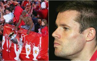 Jamie Carragher disputes Djibril Cisse's 2005 Champions League final story