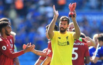 """It needs to happen so it doesn't happen again"" - Jurgen Klopp on Alisson's howler against Leicester"