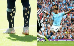 Jermaine Jenas explains why Kyle Walker has holes all over his socks
