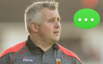 Stephen Rochford forced to listen to a load of brutal text messages during live interview