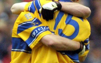 Rival clubs in Clare retire number 15 jerseys and hang them side by side