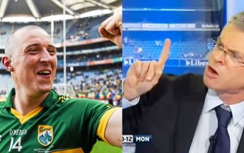 Kieran Donaghy asks Joe Brolly what he thinks of it all after Kerry's five-in-a-row