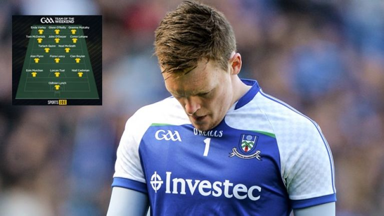 Rory Beggan the hardest done by on Sunday Game team of the year