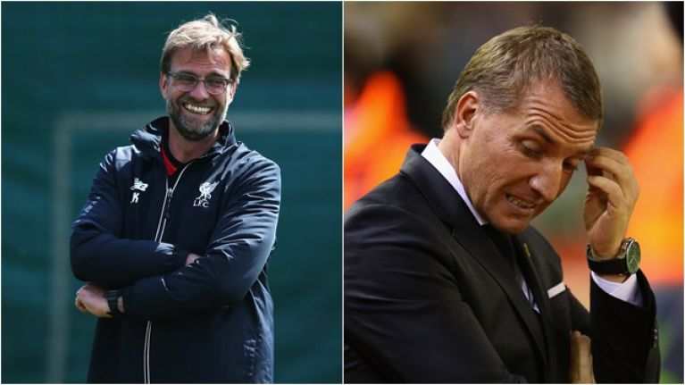Jurgen Klopp nicknames Brendan Rodgers his landlord at Liverpool