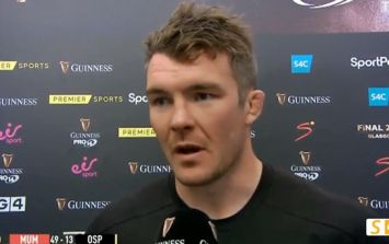 Peter O'Mahony the only one not getting carried away with Chris Cloete's brilliant return