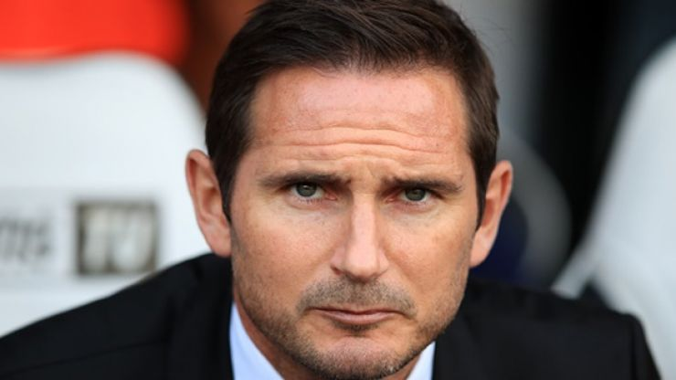 Frank Lampard sent to the stands during Derby's loss to Rotherham