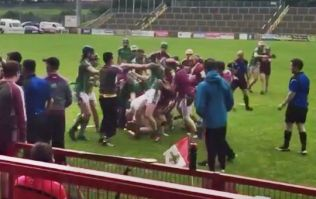 Hurling clash in Derry descends into chaos as brawl breaks out