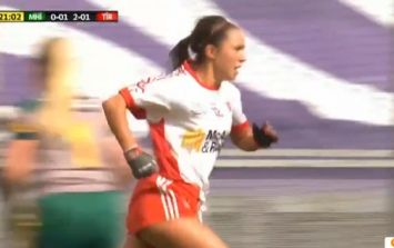 Tyrone star leaves four Meath defenders for dead on way to goal of the day