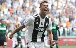 Cristiano Ronaldo gets off the mark at Juventus with two goal brace