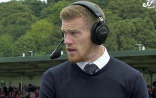 James McClean speaks superbly about former teammate Ryan McBride on punditry debut