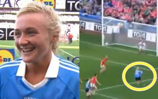 Carla Rowe gives the whole country a lesson on how to finish off goals