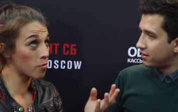 Joanna Jedrzejczyk embarrasses reporter after asking her 'stupid' Conor McGregor question