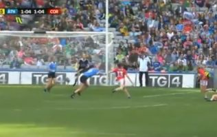 Áine O'Sullivan scores absolutely superb lob in All-Ireland final