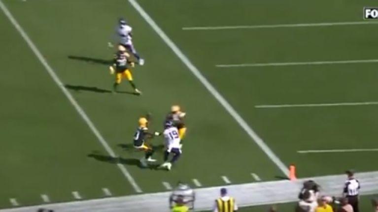 Kirk Cousins makes absolutely absurd touchdown throw to Adam Thielen