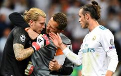 Gareth Bale on his four words of consolation to Loris Karius after Champions League final