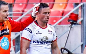 John Cooney suffered a godawful head injury during Ulster's latest victory