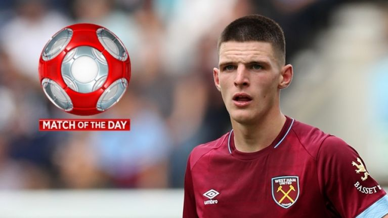 Match of the Day's analysis of Declan Rice's performance shows why Ireland badly need him