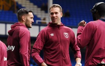 West Ham star denies that he refused to warm up during Everton match