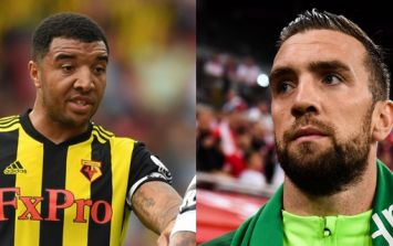 Troy Deeney calls Shane Duffy a 'typical English' centre-half