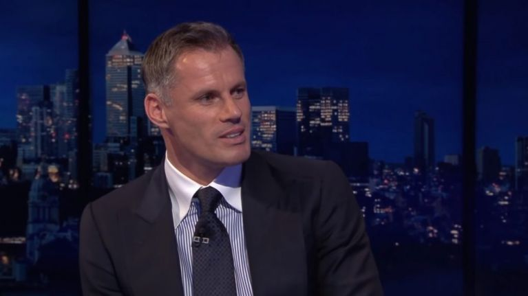 """Jamie Carragher names the """"best player in the Premier League"""""""