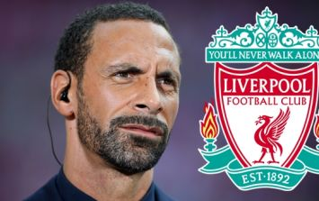 Reception for Rio Ferdinand outside Anfield shows how times have changed