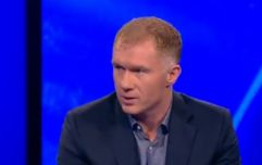 Paul Scholes' forecast for Manchester United's season does not give much hope