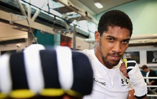 Anthony Joshua has taken inspiration from Cristiano Ronaldo ahead of title defence