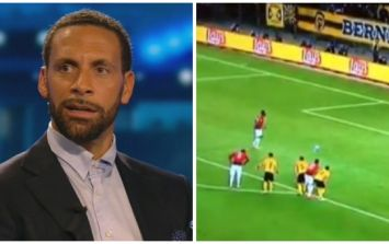 Rio Ferdinand has a cut off Paul Pogba's ridiculously long penalty run up