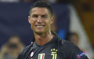 Cristiano Ronaldo breaks down into tears after very harsh red card for Juventus