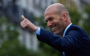 Zinedine Zidane hints that his return to coaching could come sooner than expected
