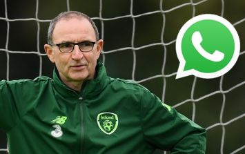 Martin O'Neill speaks about the WhatsApp recording sent about Roy Keane