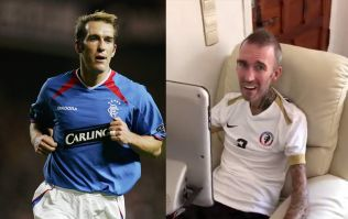 Rangers legend Fernando Ricksen uses voice machine to thank fans for support