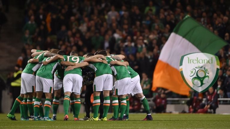 Republic of Ireland team to play Poland has been named