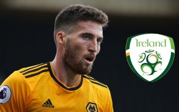 Some Ireland fans couldn't understand why Matt Doherty didn't start against Poland