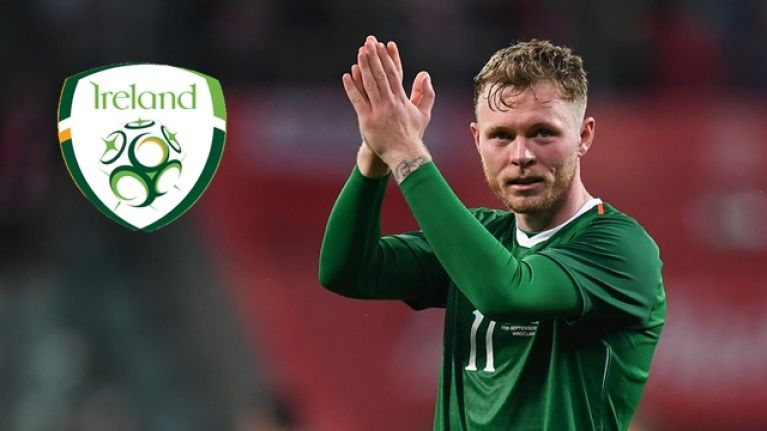 Aiden O'Brien earns praise after scoring on his Ireland debut