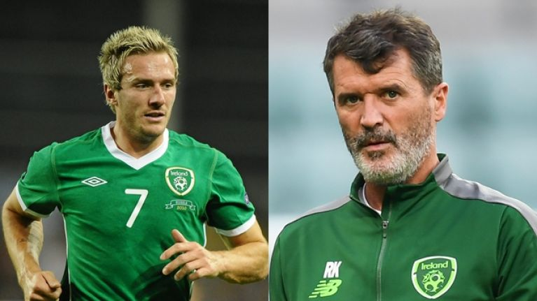 Liam Lawrence claims row with Roy Keane led to his transfer the following day