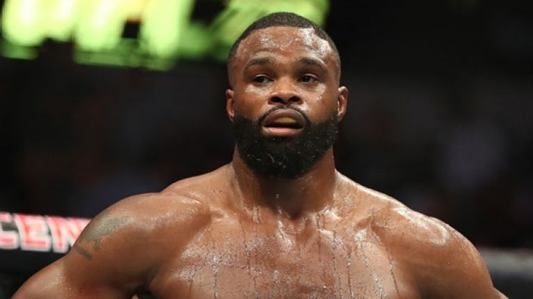 Reason for Tyron Woodley's subdued reaction to beating Darren Till is really sad