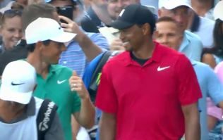 Tiger Woods reveals what Rory McIlroy said to him going up the 18th fairway