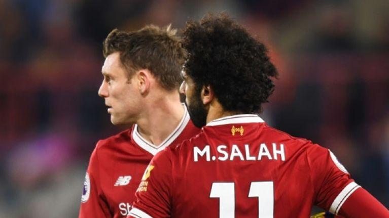 James Milner's response to Mo Salah's Puskas win was absolutely gas