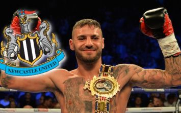 Newcastle United contact Lewis Ritson and tell him to remove badge from his clothes