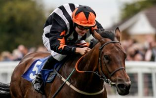 Cieren Fallon picks up first win in only third race as famous father watches on