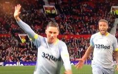 Liverpool fans were loving Harry Wilson's celebration after wonder-goal against United