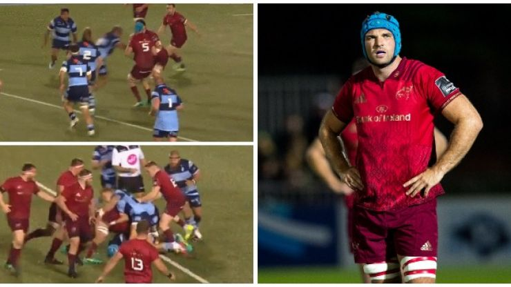 Analysis: Tadhg Beirne's workrate is second to none in a weak Munster performance