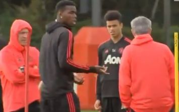 """""""Paul, get out!"""" - Extended footage emerges of the Paul Pogba exchange with Jose Mourinho"""