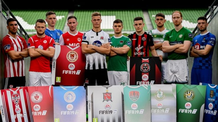 League of Ireland players pick their team of the season