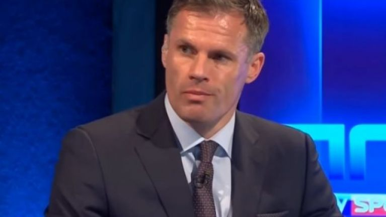 Jamie Carragher made it perfectly clear whose side he's on in Mourinho Pogba battle